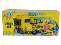 SpongeBob SquarePants Camper Van Toy Playset Inc Sponge Bob & Patrick Figure New