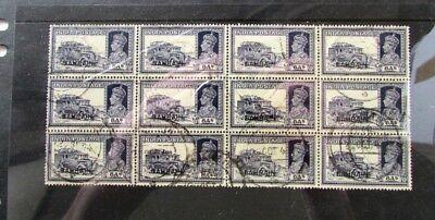 BAHRAIN BRITISH COLONY SCOTT 30 BLK 12 C (CAT $480) 1940 USED