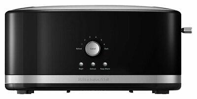KitchenAid - KMT4116OB 4-Slice Wide-Slot Toaster - Onyx Black