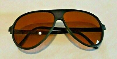 Vintage Sunglasses Made in Taiwan ROC Aviator Style Amber (Sunglasses Made In Taiwan)