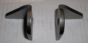 "H/D MOUNTING TAB WITH BACK BRACE, 1/4""THICK STAMPED STEEL $5.00 Belleville Belleville Area image 4"