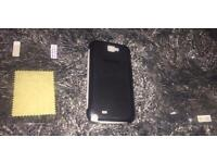 Samsung Galaxy Note II pouch & screen protector £4