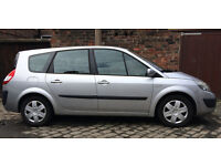 Renault Grand Scenic Expression 7 Seater, 2006, Silver, Low Mileage
