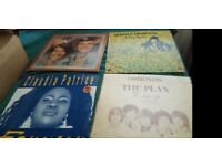 Original vinyl records and singles