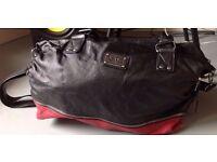 Black and red Vans handbag