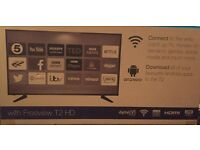 50inch Android Smart Full HD LED TV WITH WIFI & FREEVIEW T2 HD