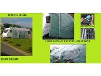 Caravan Extra Large Porch Awning Prestina 390 Bargain.