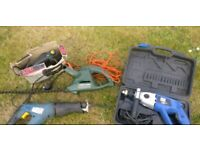 Job lot FOUR POWER TOOLS FOR SPARES OR REPAIR