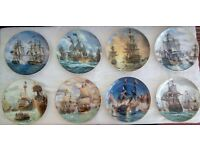Great British Sea Battles, Display Plate Collection