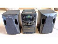 Goodmans CD Micro System (MS188) Hifi unit + 2 speakers