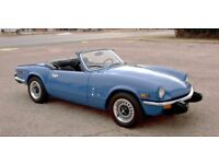 *WANTED* Triumph Spitfire mkIV/1500 with Overdrive