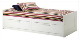 IKEA Brimnes Day-bed w 2 drawers