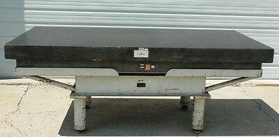 Doall Black Granite Surface Plate- Grade B .0016 Accuracy- 8x4x10 Stand