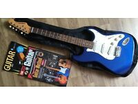 Aria STG Series Full Size Electric Guitar - Metalic Blue