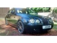 05,S Type Jaguar Sport 2.7 V6 T Diesel.F.S.H.M.O.Td .06/17.black & Tan,Perfect Driver.