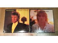 Rod Stewart LPs - Tonight Im Yours & Foot Loose & Fancy Free - Vinyl