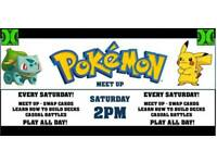 Pokemon Meet-up every Saturday + Tournament