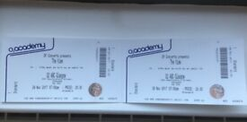 2 x Tickets for The View at O2 ABC Glasgow tonight!