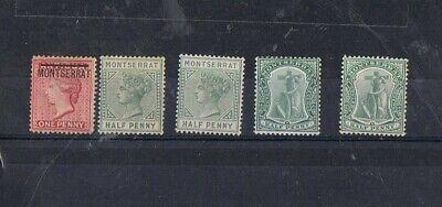 MONSERRAT - Lot of old stamps