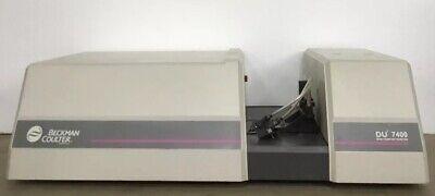 Beckman Du 7400 Spectrophotometer Wisconsin University Surplus Gov Maintained