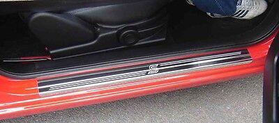 Fiesta Zetec S 2dr (08 ) Stainless Steel Kick Plate Door Sill Protectors - K01X