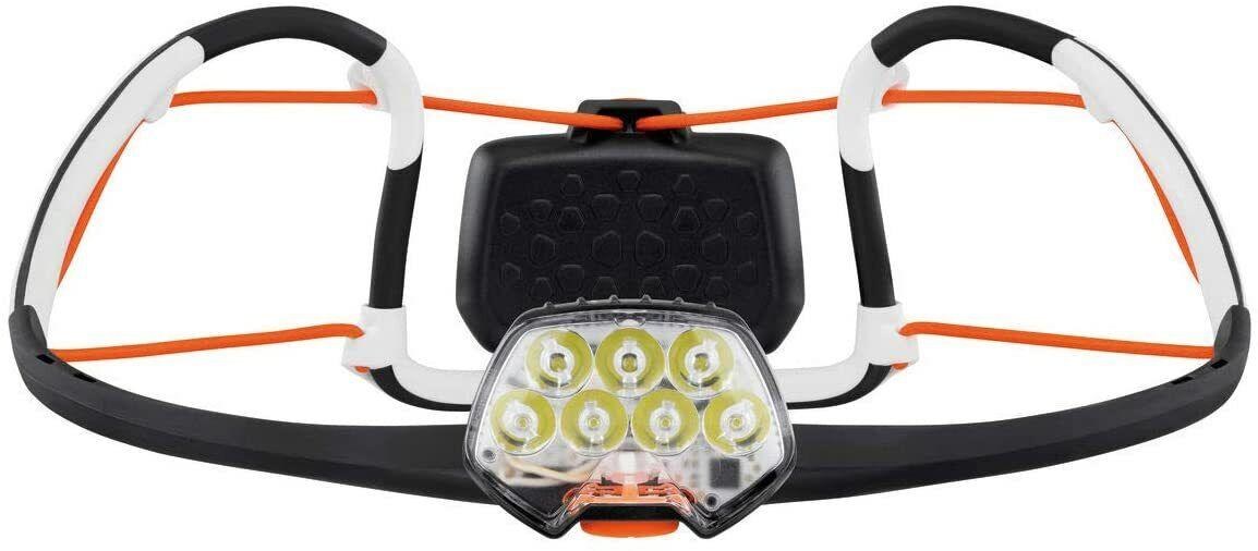 Petzl IKO CORE aufladbare Stirnlampe 500 Lumen Airfit Kopflampe ultraleicht 79 g