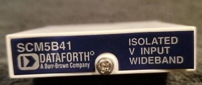 Dataforth Scm5841-07 Wide Bandwidth Isolated Voltage Input Module