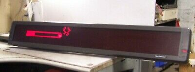 Emc Aspect 4160r120 Programmable Scrolling Telecaster Electric Info Sign 52x8
