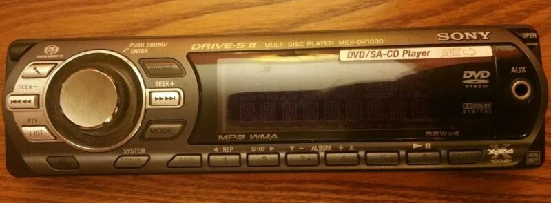 Sony Mex-DV1000 faceplate only