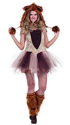 Sexy Löwe Löwenkostüm Tierkostüm Lion Kostüm für Damen