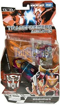 Japanese Transformers Animated - TA-33 Hot Rodimus