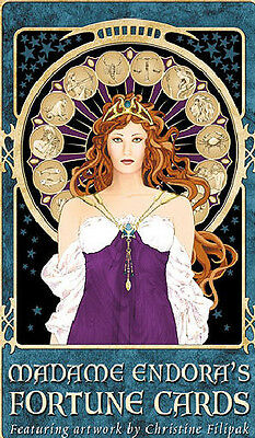 Madame Endora's Fortune Cards Tarot Oracle Small Press Christine Filapak