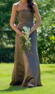Long Mocha Colored Dress