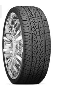 "Wanted - 285/45R22 tires ... Trade 18"" Blizzaks"