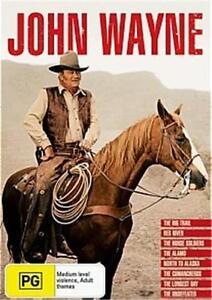 JOHN WAYNE Collection = NEW R4 8-DVD BOX SET