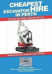 Cheap Mini Excavator Hire Southern River Gosnells Area Preview