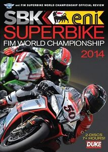 Superbike World Championship - Official review 2014 (New 2 DVD set) SBK Sykes
