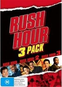 RUSH HOUR Trilogy 1 2 3 : NEW DVD : Jackie Chan