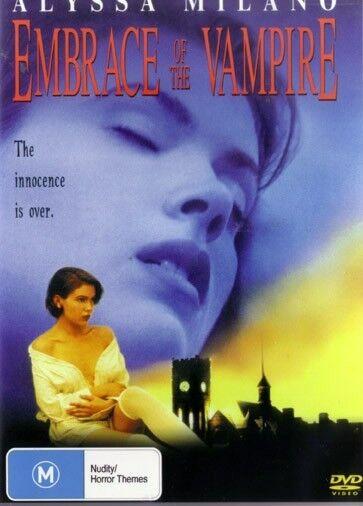 EMBRACE OF THE VAMPIRE - ALYSSA MILANO NEW & SEALED DVD
