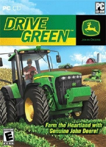 JOHN DEERE Drive Green  Farming Simulation   Brand New in Box    PC Game