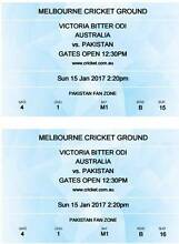 Victoria ODI Pakistan Vs Australia 15 Jan Ticket. 1 Adult+1 Child Lakemba Canterbury Area Preview