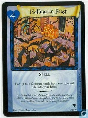 Harry Potter TCG Quidditch Cup Halloween Feast 10/80](Halloween Feast)