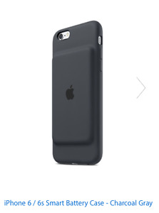 iPhone 6 with Apple Battery Case