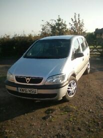 Bargain 51 plate vauxhall Zafira for sale