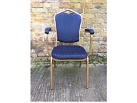 115x Second Hand Stacking Chairs with Arms - Hertfordshire