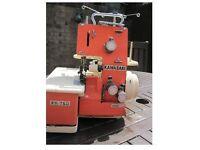 WANTED: OVERLOCKER SEWING MACHINE KAWASAKI FR-750