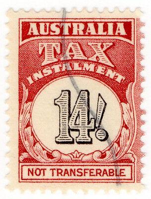 (I.B) Australia Revenue : Tax Instalment 14/-