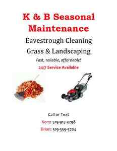 Grass Cutting & Eavestrough Cleaning