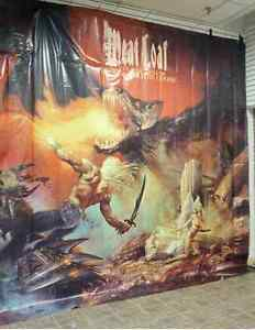 MEATLOAF BAT OUT OF HELL III The Monster is Loose poster/banner