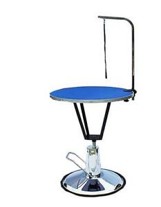 Hydraulic Dog Grooming Table with Arm Color Blue NO.239125